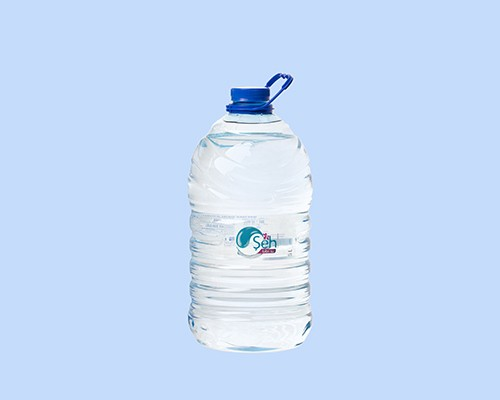Spring bottled water Şeh in volume of 5 l