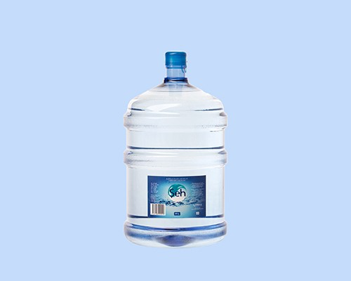 Spring bottled water Şeh in volume of 19 l